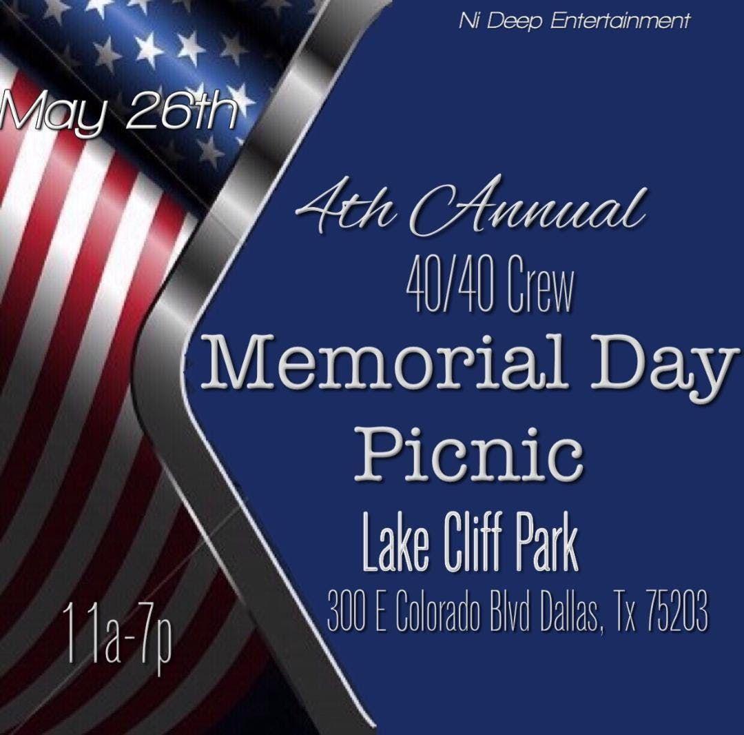 4th Annual 4040 Crew Memorial Day Picnic