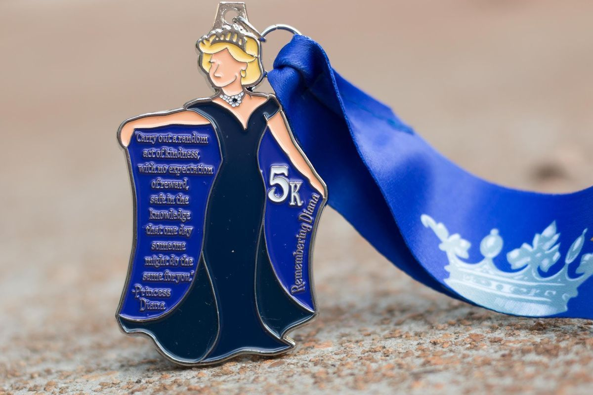 Now Only 8.00 Make a Difference Day 5K- Remembering Princess Diana- Oakland