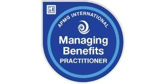 Managing Benefits Practitioner 2 Days Virtual Live Training in Hobart