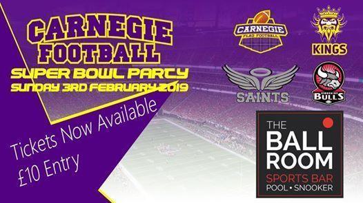 Super Bowl LIII Party - Carnegie Football