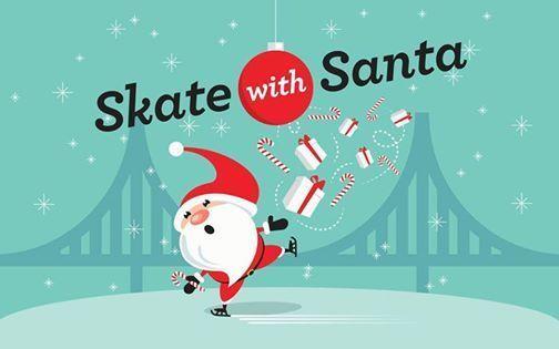 Skate with Santa - Sunday Mornings