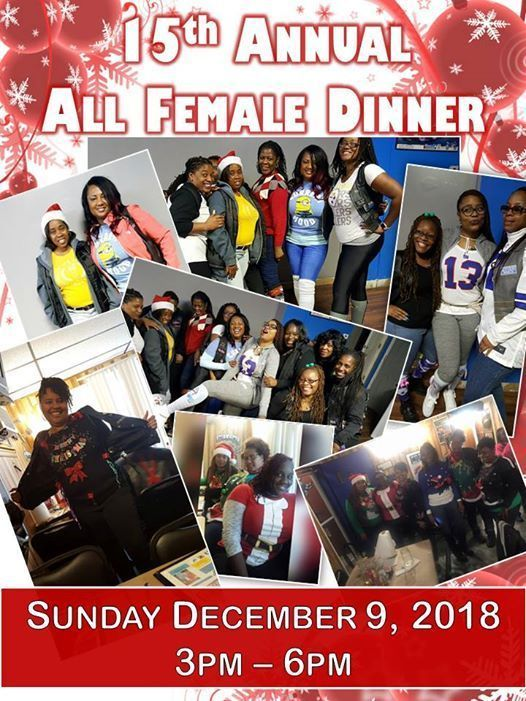 15th Annual All Female Dinner