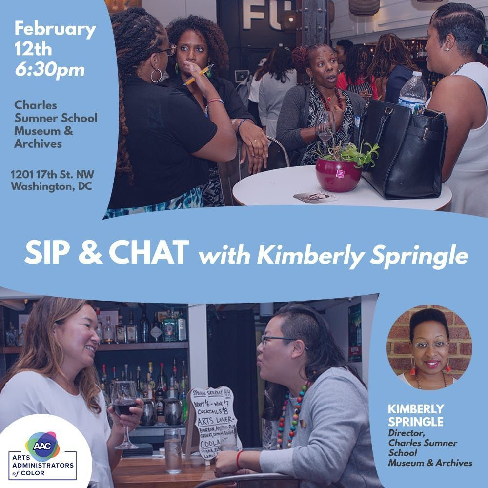 Sip & Chat Series Kimberly Springle