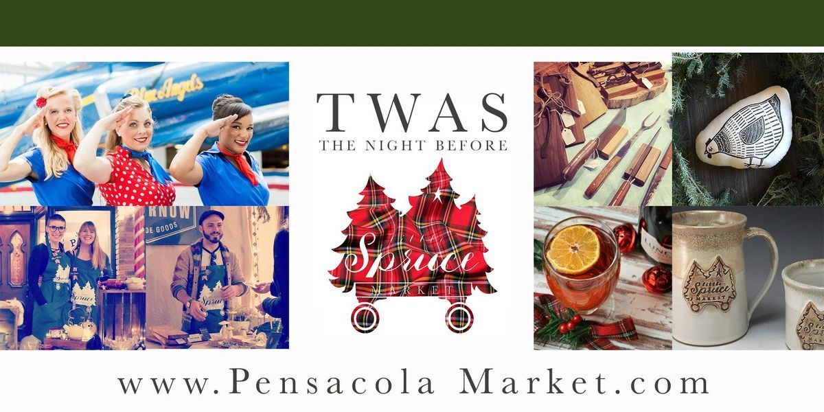 Twas The Night Before Little Spruce Market At Museum Of
