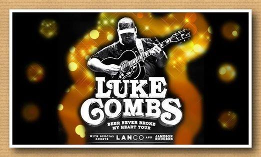 Luke Combs in Birmingham