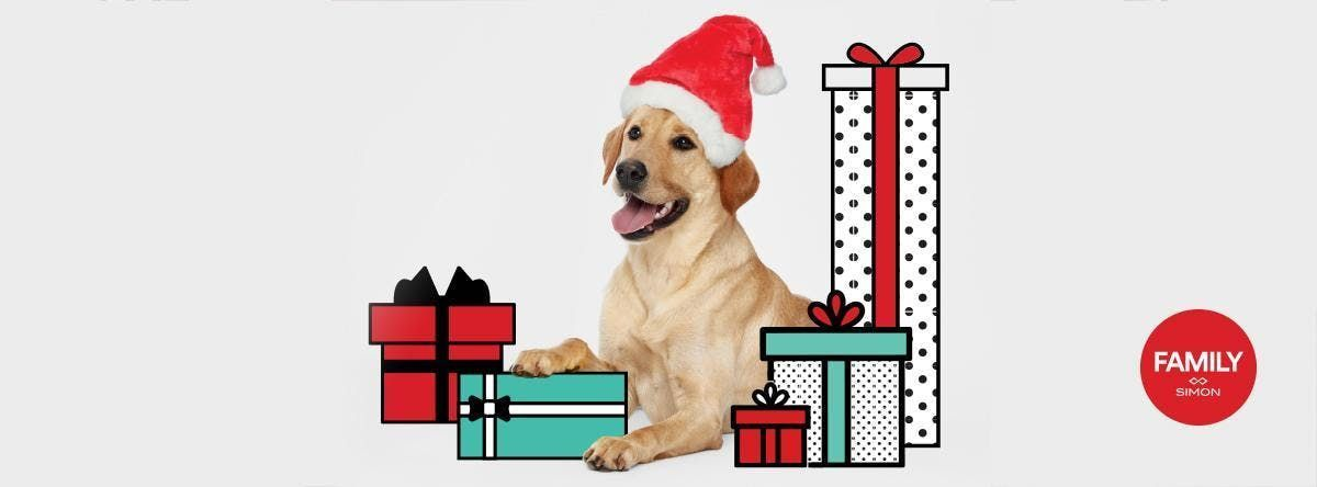 Retrata tu mascota con Santa en Plaza Carolina