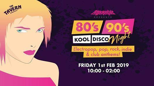 80s & 90s Kool Disco Party Night