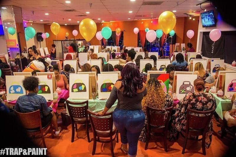 Pretty Girls Love Thirsty Thursdays Paint and Sip Classes