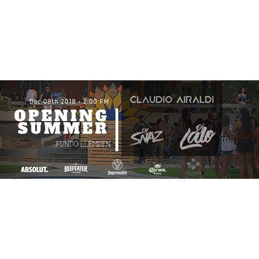 08.12 Opening Summer