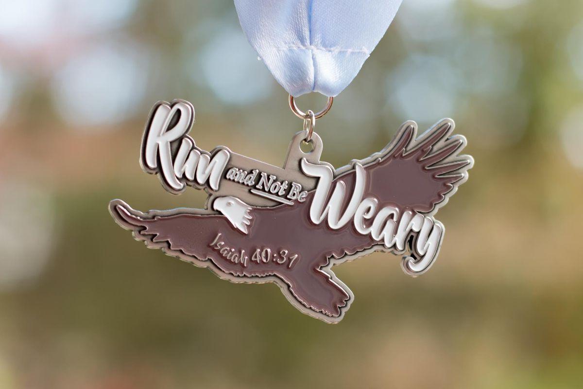 2019 The Run and Not Be Weary 1 Mile 5K 10K 13.1 26.2 - Cincinnati