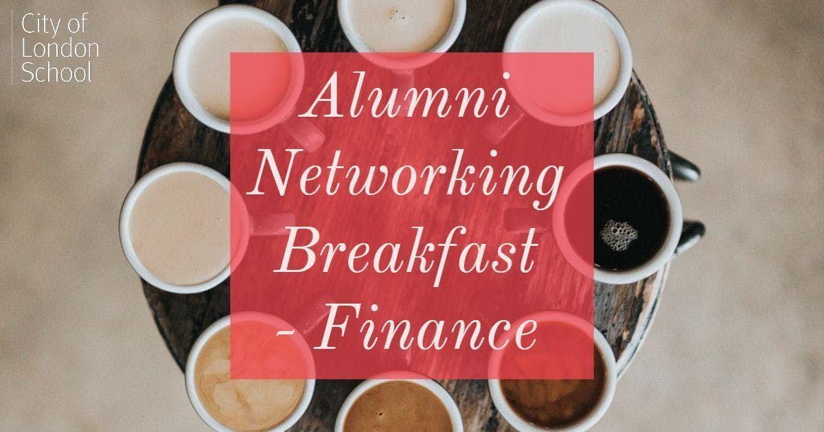 Alumni Networking Breakfast - Financial Services