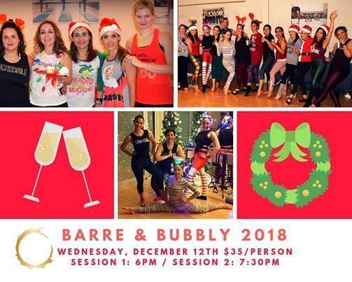 Barre & Bubbly 2018