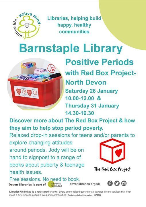 Positive Periods with Red Box Project-North Devon