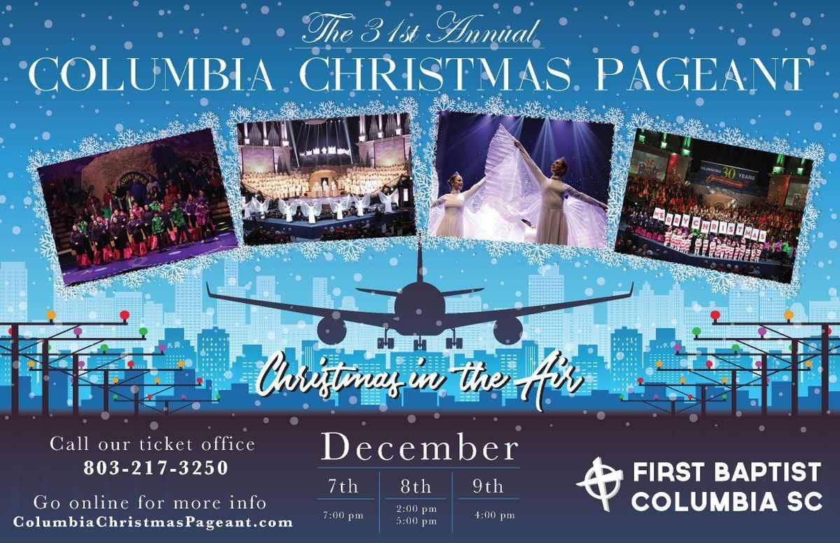 Columbia Christmas Pageant - Friday 2018