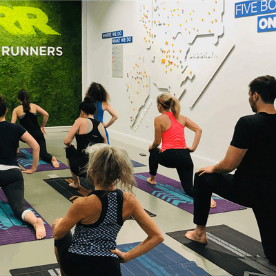 RUNHealthy Silver Sneakers Yoga Hosted by trFORMAT