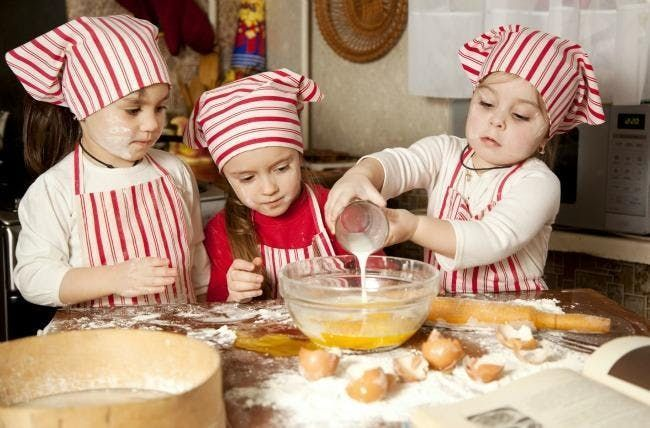 Kids Cooking Class Meatballs & Brownies